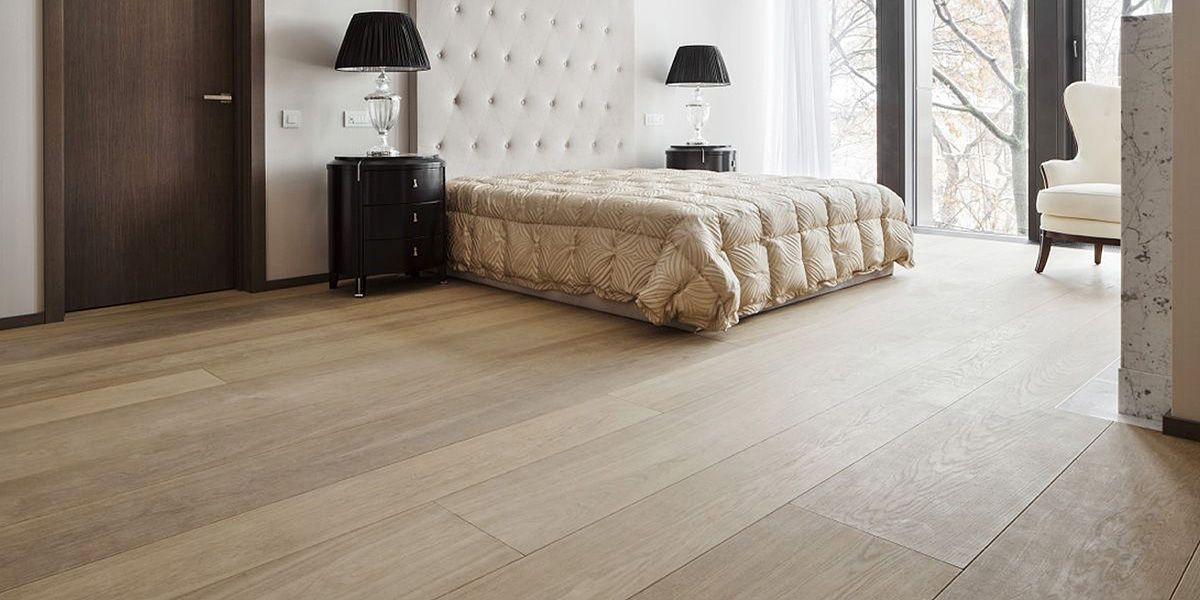 Ebony and Co project continental oak wide planks clear grade