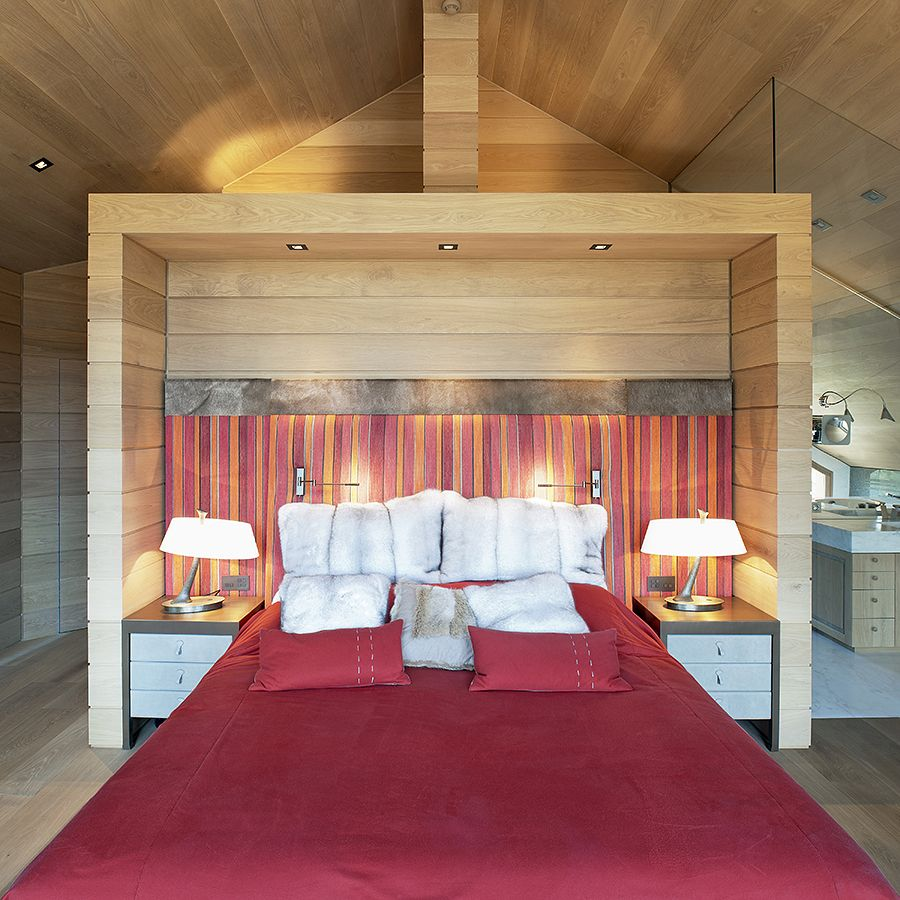 Ebony and Co project Chalet Meribel Martine Tomé American White Oak