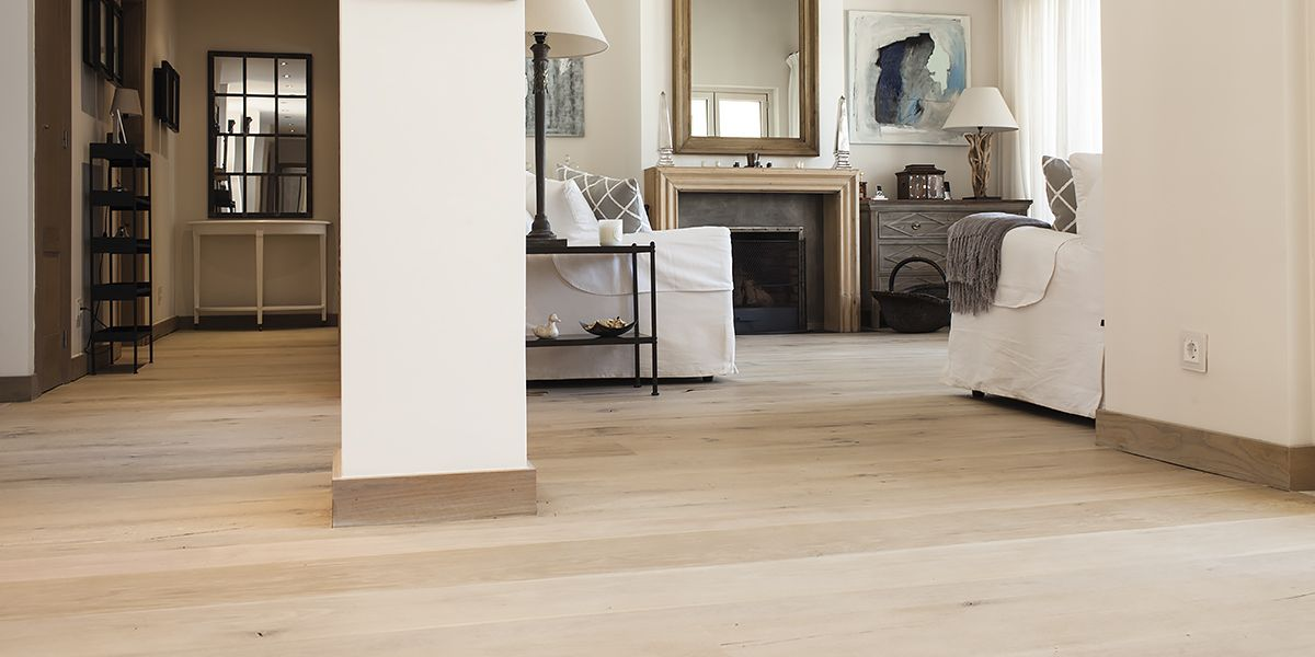Ebony and Co Project - Antique American White Oak - Handcrafted Hardwood Floors