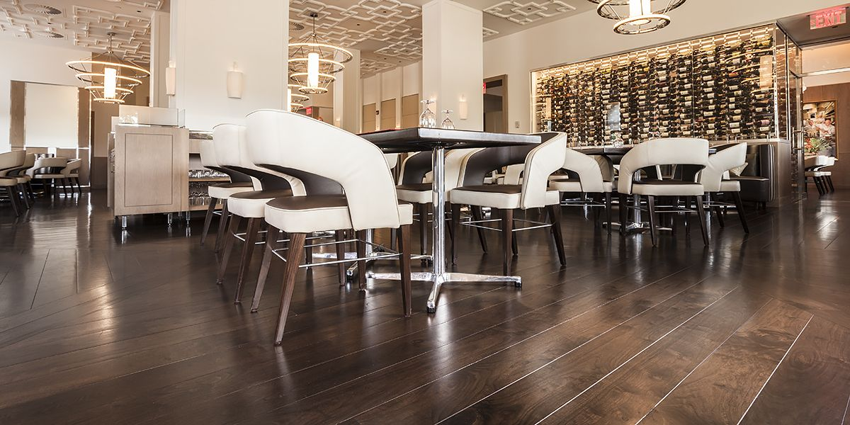 Ebony and Co project Bocuse Restaurant American Walnut Select Grade