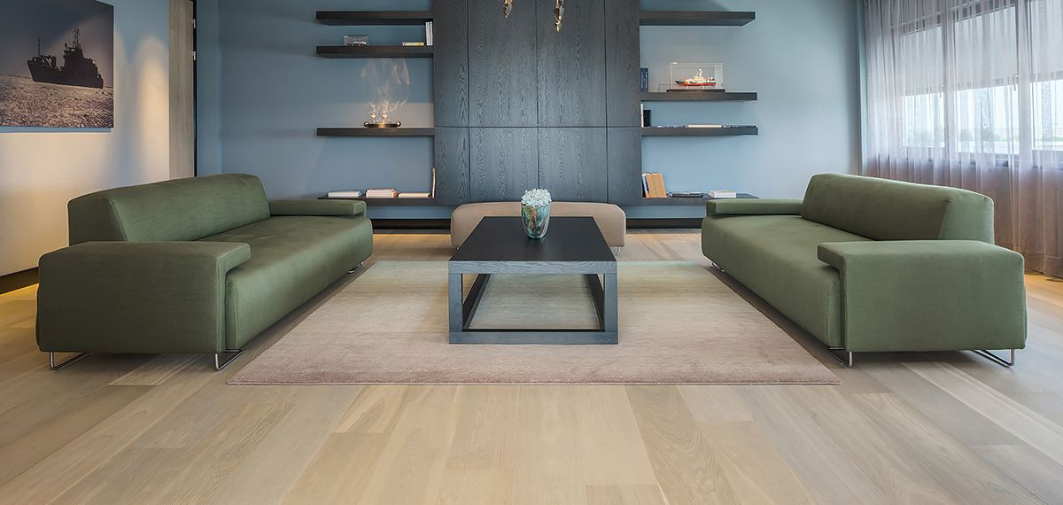 Ebony and Co project Damen Shipyard Continental Oak Select Grade