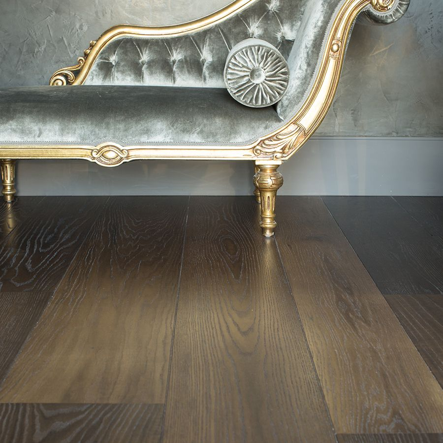 Ebony and Co Project - Solid American Red Oak Dark Marron - Wooden Floor