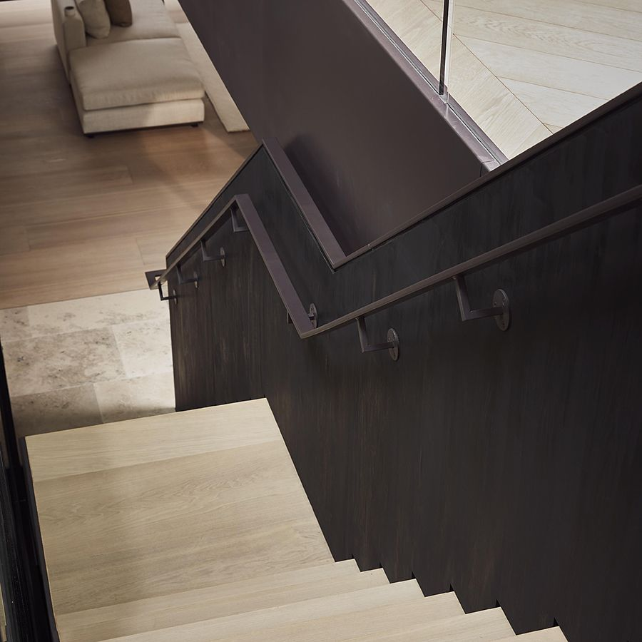 Ebony and Co project - Stairs - Continental Oak - Handcrafted Hardwood Floors