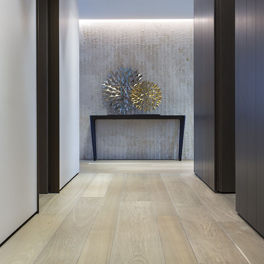 Ebony ad Co project luxury New York apartment Continental Oak