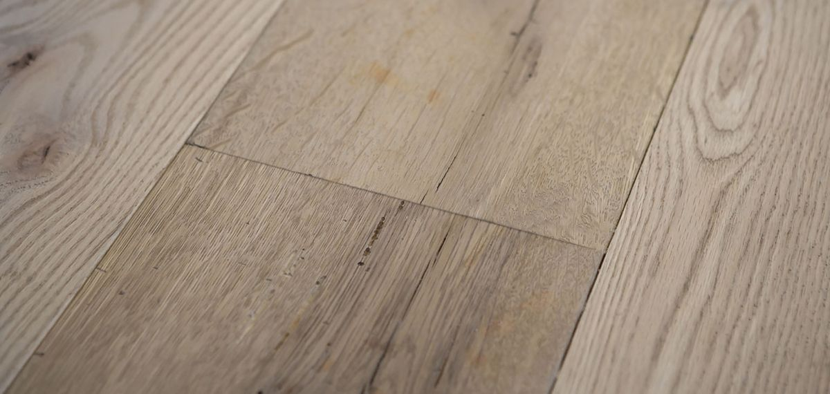 Ebony and Co wooden floor Solid Antique American White Oak