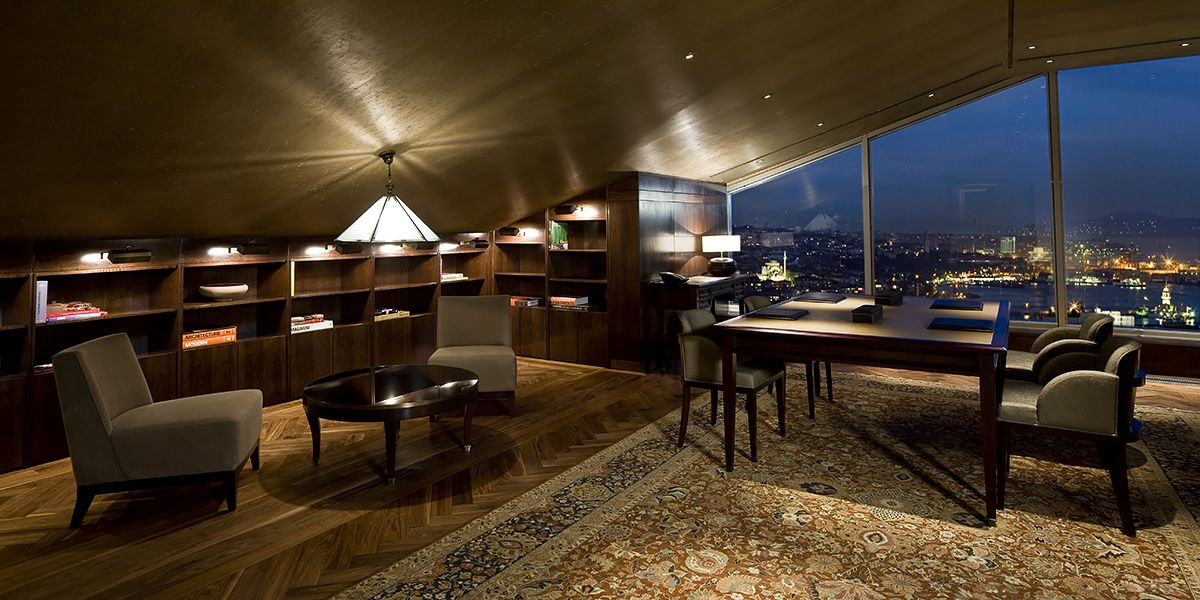 Ebony and Co project Park Hyatt Istanbul wooden floor