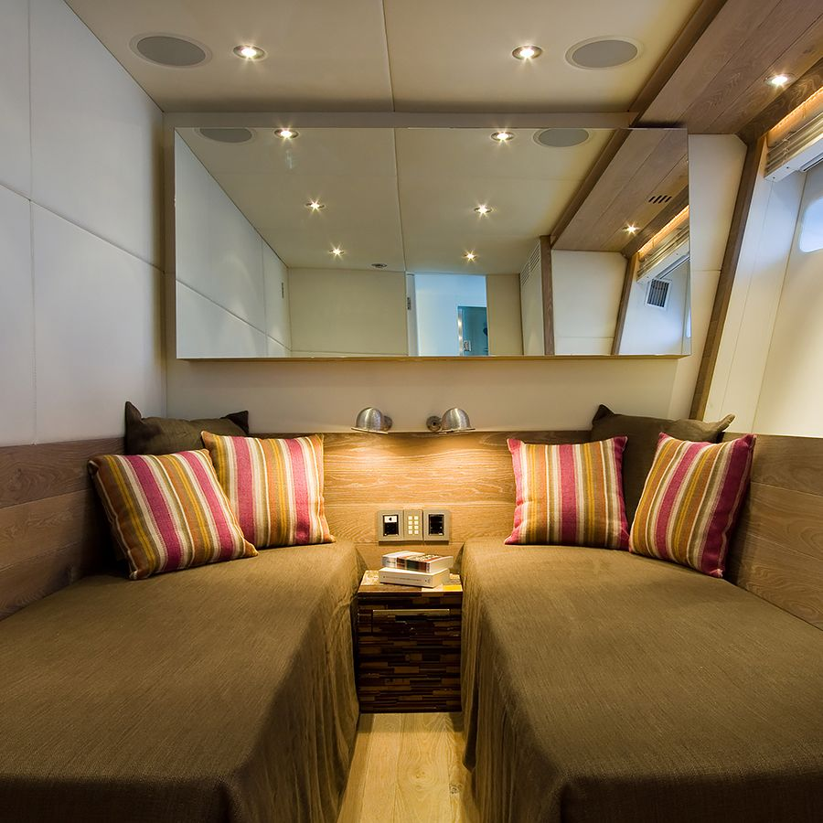 Ebony and Co project Velvet 90 Fashion Yacht American White Oak